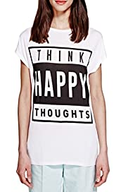 Think Happy Thoughts T-Shirt [T69-9082J-S]