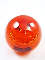 M Design Art Handcraft Dark Orange Monochrome Abstract Design Paperweight PW-616