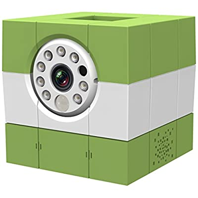 Amaryllo Icam Hd 360 Wireless Ip Camera (Green/White)