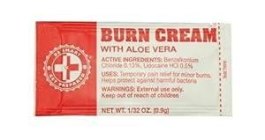 Guardian Survival 100 Burn Cream Packets.