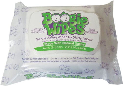 Boogie Wipes Boogie Wipes, Unscented, 30 Count