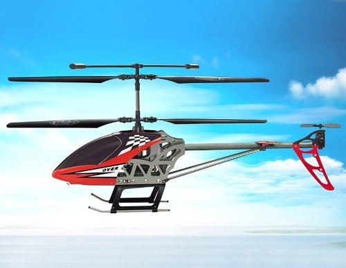 SongYang TOYS 8088-42 3.5-Channel Alloy RC Helicopter (Red)