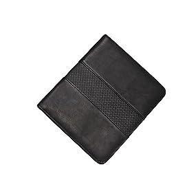 Bellino Junior Size Memo Pad Holder, Black (P8181.BLK)