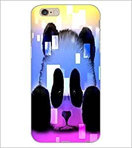 PrintDhaba Skull D-4380 Back Case Cover for APPLE IPHONE 6 (Multi-Coloured)