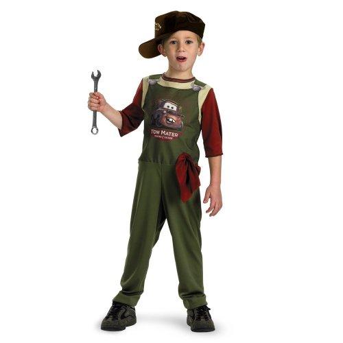 Tow Mater Mechanic Std 3t 4t (Tow Mater Halloween Costume)