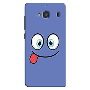 ColourCrust Xiaomi Redmi 2 Prime Mobile Phone Back Cover With Smiley Expressions Style - Durable Matte Finish Hard Plastic Slim Case