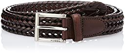 Fossil Men's Myles Belt, Cognac, 36