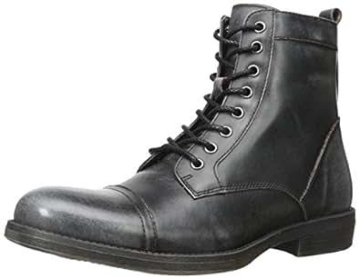 Amazon.com: Steve Madden Men's Dino Combat Boot: Shoes Steve Madden Combat Boots Men