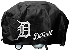 Caseys Distributing 9474638700 Detroit Tigers Grill Cover Deluxe by Caseys