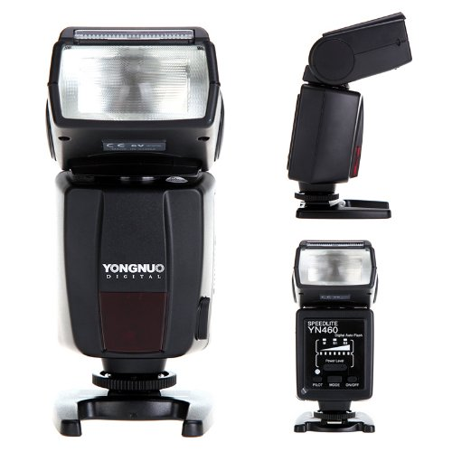 YONGNUO YN460 Flash Speedlite for Canon Nikon Pentax Olympus