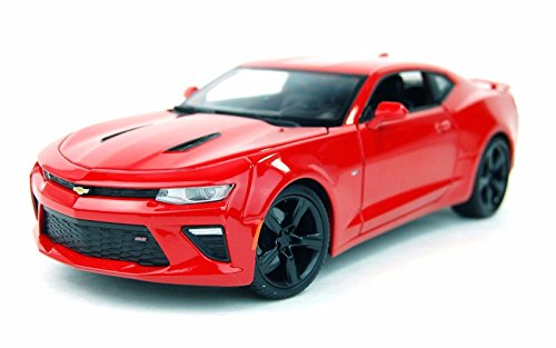 New 1:18 W/B SPECIAL EDITION - RED 2016 Chevrolet Camaro SS Diecast Model Car By Maisto (Camaro Car compare prices)