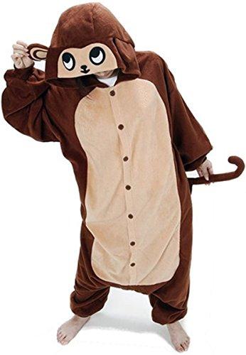 Brown Monkey Unisex Costume