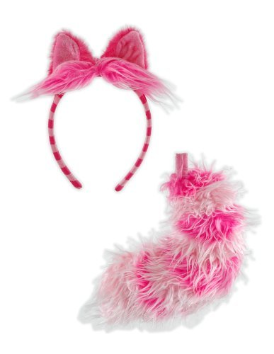 elope Disney's Classic Alice In Wonderland Cheshire Cat Ear and Tail Set