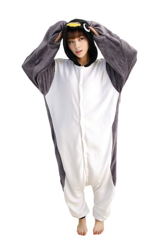 Grey Penguin Kigurumi Costume