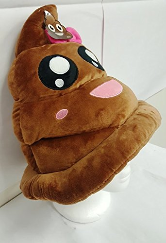 Emoji-Poop-Plush-Hat-Pillow-Halloween-Pillow