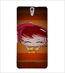 PrintDhaba Cartoon D-4959 Back Case Cover for SONY XPERIA C5 ULTRA (Multi-Coloured)