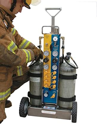 "Air Systems MP-TR1 21.0"" Width, 15.5"" Depth, 4500psi Technical Rescue Air Cart"