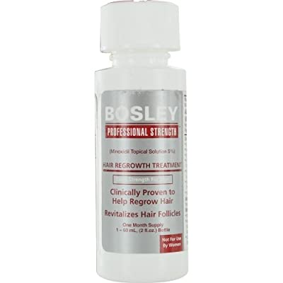 BOSLEY by HAIR REGROWTH TREATMENT, EXTRA STRENGTH FOR MEN- TWO MONTH SUPPLY 2- 2 OZ BOTTLES