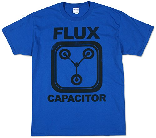 Back to the Future Flux Capacitor Turquoise Blue