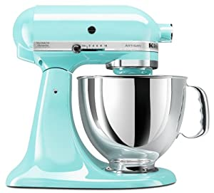 KitchenAid KSM150PSIC 5 Qt. Artisan Series with Pouring Shield - Ice