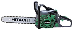 Hitachi CS51EAP 50.1CC 20-Inch Rear Handle Chain Saw with PureFire Engine
