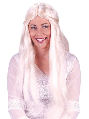 Long Blonde Wig Fairy Costume Hippie Costume Renaissance Costume Wig