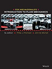Fox and McDonald's Introduction to Fluid Mechanics, 9th Edition