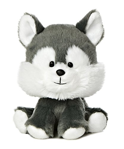 "Aurora World Wobbly Bobblee Husky Plush, 6"" Tall - 1"