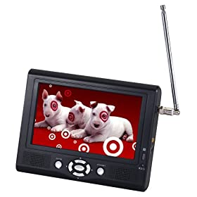 "Digital Prism 7"" Portable Digital LCD TV"