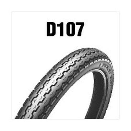 DUNLOP(ダンロップ) バイク用タイヤD107 2.50-17 43L (6PR) WT 242419