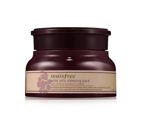 Innisfree - Wine Jelly Sleeping Pack - Mask - Facial Care
