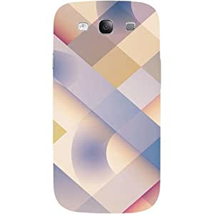 Casotec Striped Design 3D Printed Hard Back Case Cover for Samsung Galaxy S3 i9300