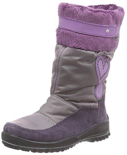 RicostaRanki - Scarponi da neve imbottiti, a mezza gamba Ragazza , Viola (Violett (amethyst/purple 369)), 31