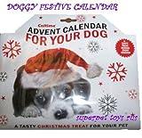 Dog christmas advent calendar treat toy 2016
