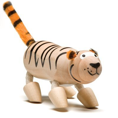 Anamalz Wooden Tiger - 1