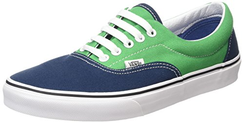 be8d0bd0c7 Vans Unisex Era (2 Tone) Drs Bls Kelly Grn Skate Shoe 9 Men US ...