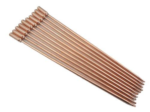 Misol 10 Pcs/Lot Of Copper Heat Pipe (40Cm), For Solar Water Heater / Solar Hot Water Heating / For Solar Collector