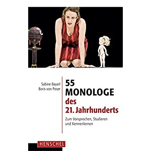 55 Monologe des 21. Jahrhunderts