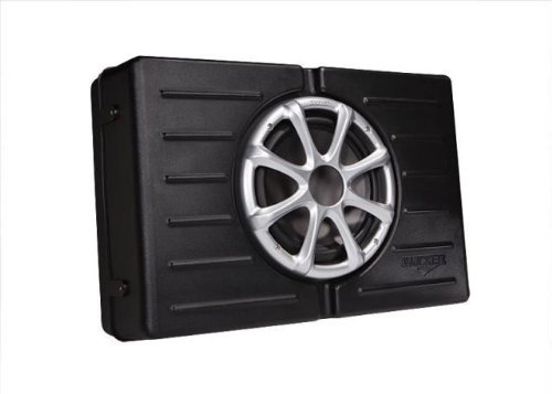 "Kicker 11Skm10 10"" 300 Watt 4 Ohm Marine Subwoofer / Enclosure Combination Water Resistant And 100% Stainless Steel Hardware."