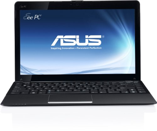 Asus 1215B 30,7 cm (12,1 Zoll) Netbook (AMD E-450, 1,6GHz, 2GB RAM, 500GB HDD, ATI HD 6320) matt schwarz