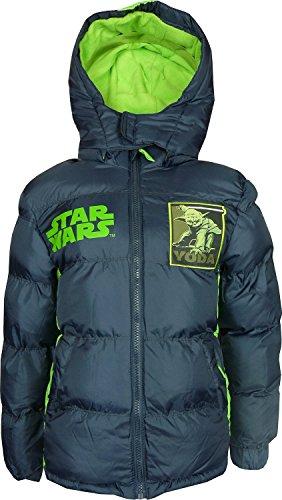 Bambini e ragazzi Star Wars invernale Giacca con Cappuccio Scuro Grigio-4 Anni / 104 cm