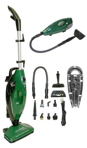 Gruene Clean System Steam Mop & Hand Held Steamer w/ Attachments (Handheld Steam Mop compare prices)