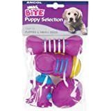 Ancol Small Bite Puppy Vinyl Selection Assorted, 8 cm