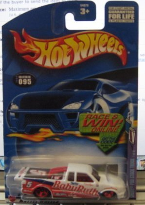 hot-wheels-2002-sweet-rides-chevy-pro-stock-truck-1-4-095-white-baby-ruth-by-mattel
