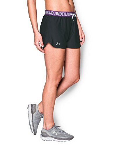 Under Armour Women's Play Up Shorts, Anthracite (017), X-Small