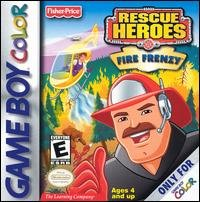 Fisher Price Rescue Heroes: Fire Frenzy front-790209