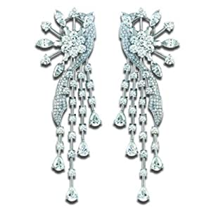 25.5 ct. t.w. Designer Diamond Earrings (G-H, VS1)