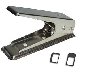 Pince à découper les cartes SIM pour les transformer en nano-SIM pour iPhone 5 et iPad mini + 2 adaptateurs