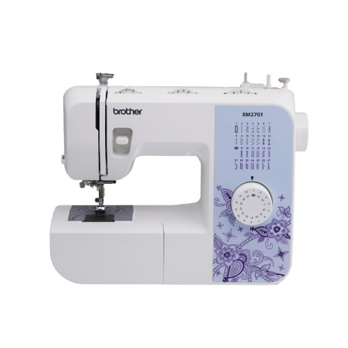 Best Price! Brother XM2701 Lightweight, Full-Featured Sewing Machine with 27 Stitches, 1-Step Auto-Size Buttonholer, 6 Sewing Feet, and Instructional DVD