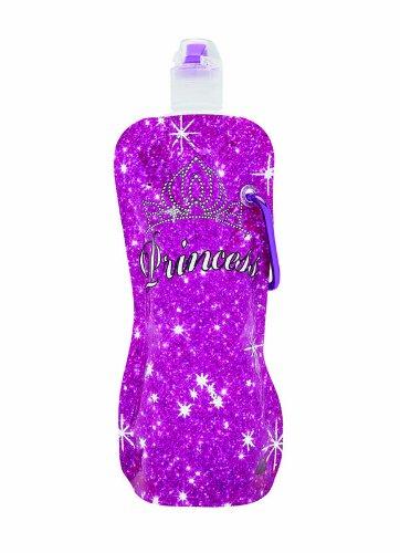 Sharkskinzz Water Bottle - Princess Glitter (2 Pack)